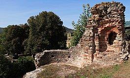 Ruinen des Kaiserpalastes in Konz