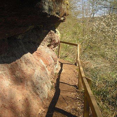 Foto: Felsen vor Kollesleuken (03)