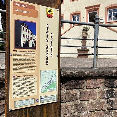Foto: Historischer Rundweg Station 8