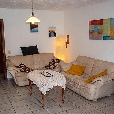 Foto: untere FeWo - Wohnzimmer