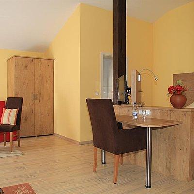 Foto: Doppelzimmer Kompfort mit großem Balkon