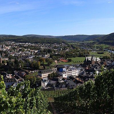 Foto: Blick auf Saarburg