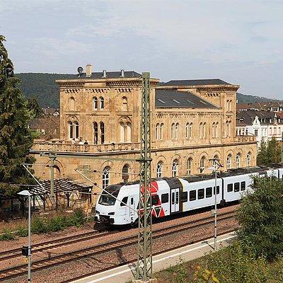 Foto: Bahnhof Konz (2)