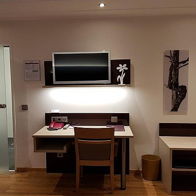 Foto: Doppelzimmer Komfort Hofseite (2)