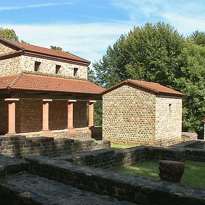 Foto: Tempelanlage Tawern
