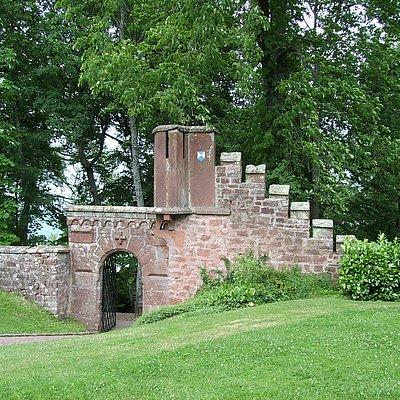 Foto: Eingang Klause Kastel-Staadt