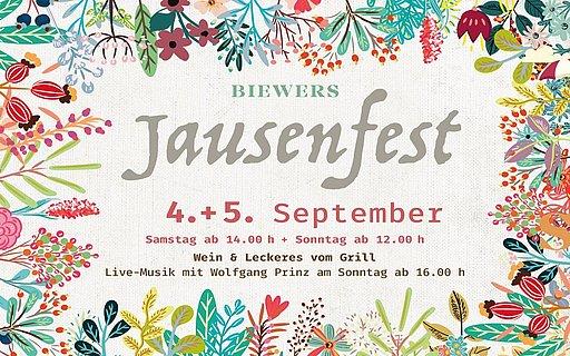 Plakat Jausenfest