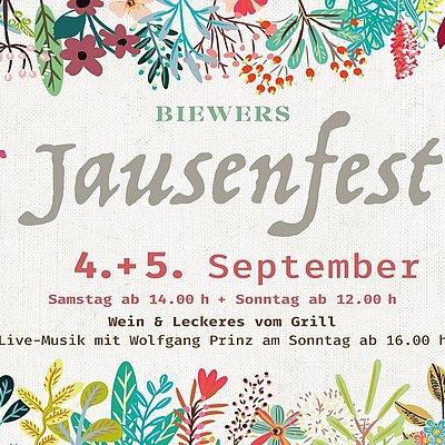 Foto: Plakat Jausenfest
