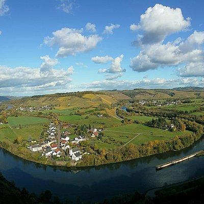 Foto: Saarschleife bei Filzen-Hamm