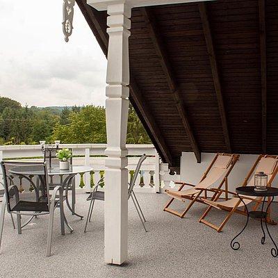 Foto: obere FeWo - Terrasse