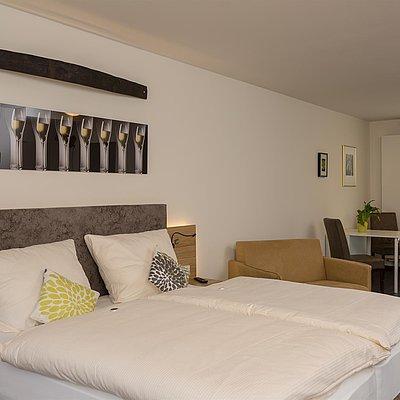 Foto: Schlaf & Wohnbereich Faß 14 Gästehaus