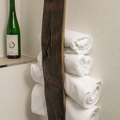 Foto: Handtuchhalter im Gästehaus
