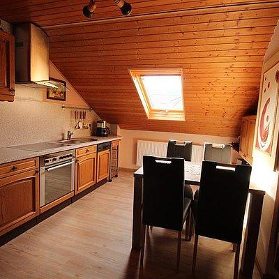 Foto: Ferienwohnung oben Küche