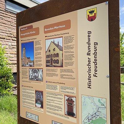 Foto: Historischer Rundweg Station 4