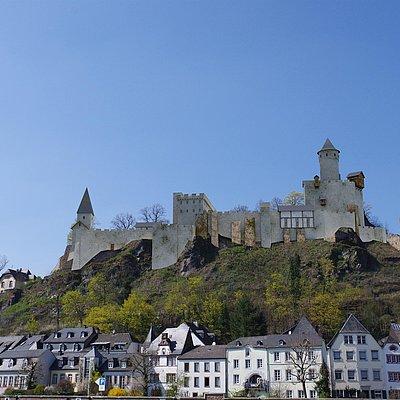 Foto: Burganlage Saarburg (07)