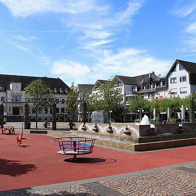 Foto: Marktplatz Konz (1)
