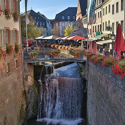 Foto: Wasserfall Saarburg (1)