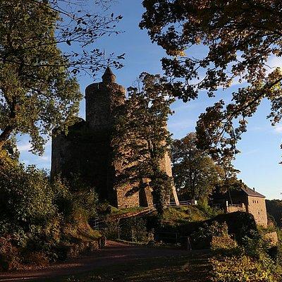 Foto: Burganlage Saarburg (05)