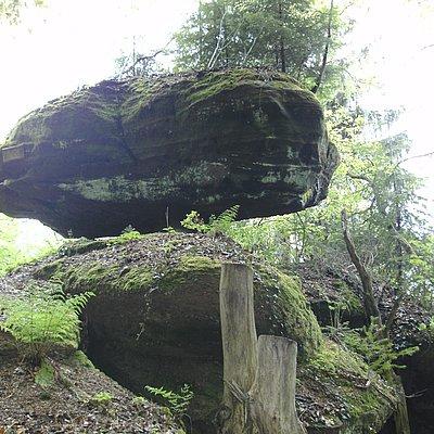Foto: Igelfelsen Kastel-Staadt (2)