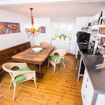 Foto: Küche/Esszimmer