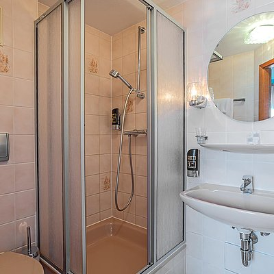 Foto: Badezimmer Einzelzimmer Komfort