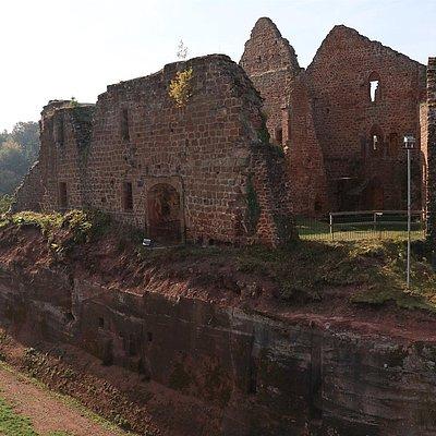 Foto: Burganlage Freudenburg (4)