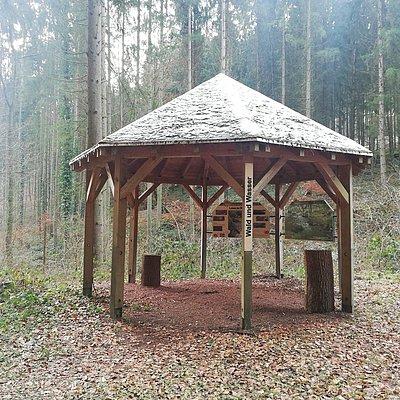 Foto: Informationspavillon Wald und Wasser (3)