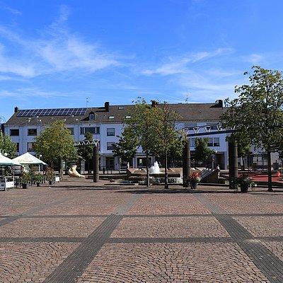 Foto: Marktplatz Konz (2)