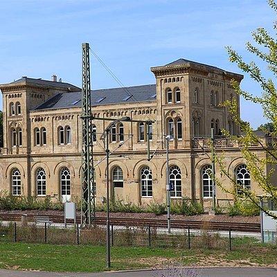 Foto: Bahnhof Konz (1)