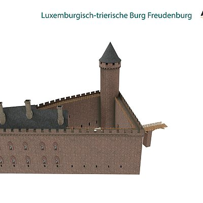 Foto: Burganlage Freudenburg (8)