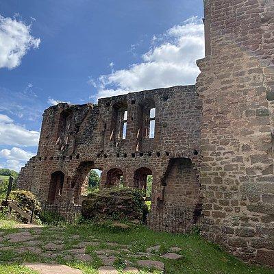 Foto: Burganlage Freudenburg (1)