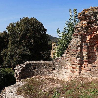 Foto: Ruinen Kaiserpalast Konz (1)