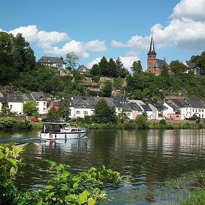 Foto: Saarburg (2)