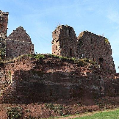 Foto: Burganlage Freudenburg (6)
