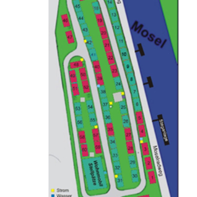 Foto: Platzeinteilung