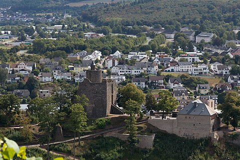 Burganlage Saarburg