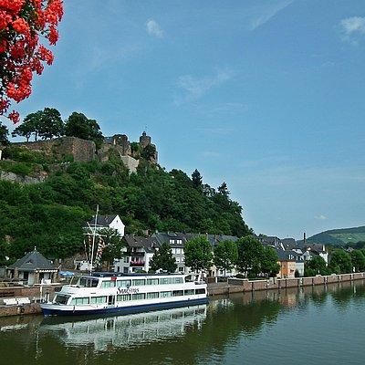 Foto: Saarburg - Saarstern