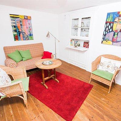 Foto: Wohnzimmer Ferienhaus