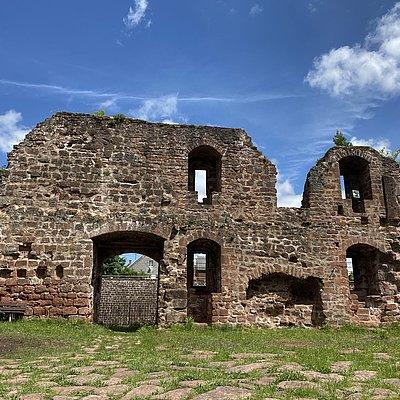 Foto: Burganlage Freudenburg (2)