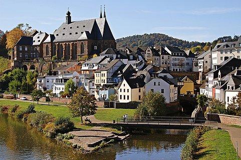 Leukmündung Saarburg