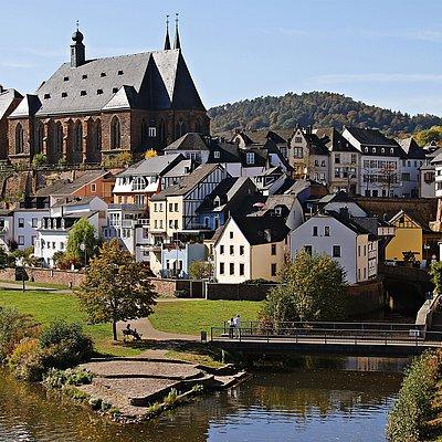 Foto: Leukmündung Saarburg