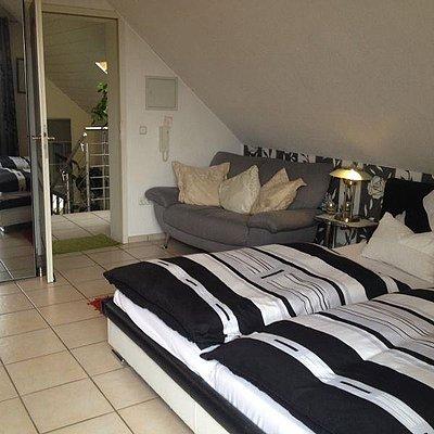 Foto: Schlafbereich Appartement 1