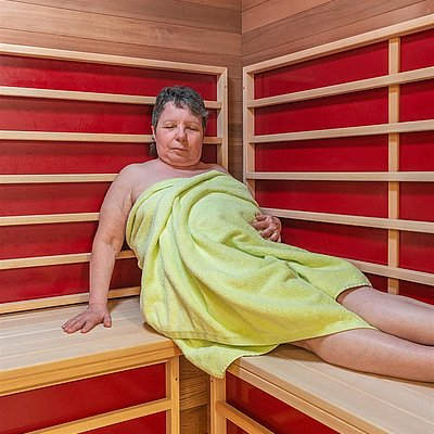 Foto: Infrarot Sauna