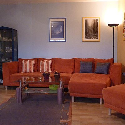 Foto: Wohnbereich Appartement 1