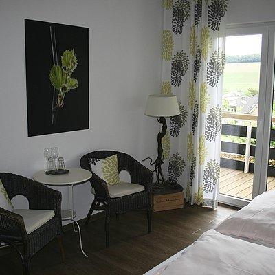 Foto: Faß 3 Komfort-Doppelzimmer im WEINhotel