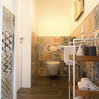 Foto: Gästebad mit WC