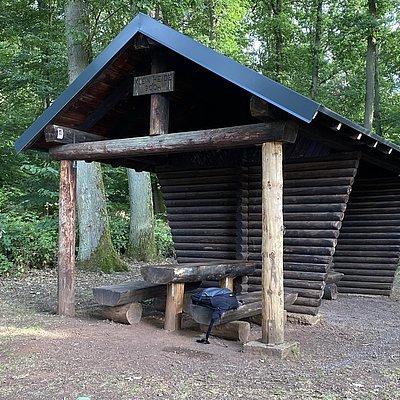 Foto: Schutzhütte Kleinheide (01)