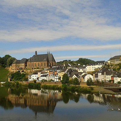 Foto: Blick auf die Altstadt von Saarburg