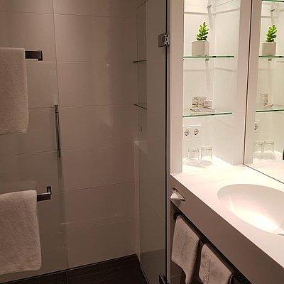 Foto: Doppelzimmer Komfort, Badezimmer