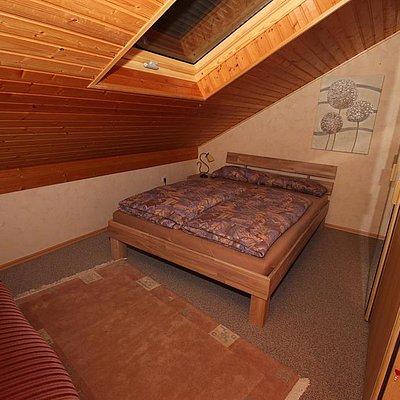 Foto: Ferienwohnung oben Schlafzimmer 2